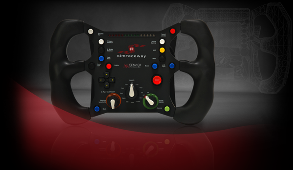 One amazing steering wheel