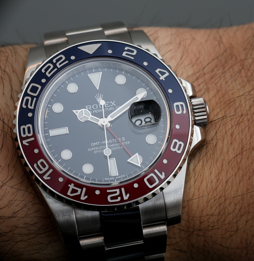 Rolex GMT Master II Red Blue