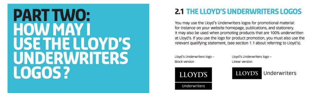 Lloyd's Branding
